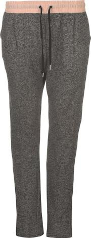 Rock And Rags Contrasting Waist Jogging Pants