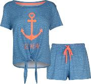 Sea T Shrt Set Ld83
