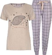 Short Sleeve Pyjama Set Ladies