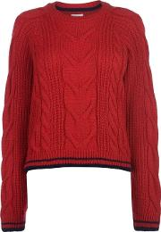 Deluxe Cable Knit Jumper