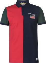 Deluxe Cut And Sew Polo Shirt