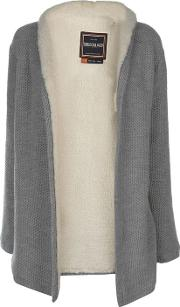 Open Long Sleeve Knit Cardigan Ladies