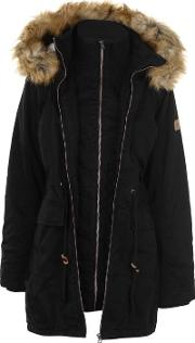 Soulcal Double Layer Parka Ladies
