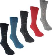 Micro Stripe Socks