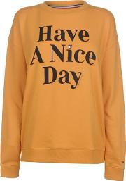 Have A Nice Day Sweater