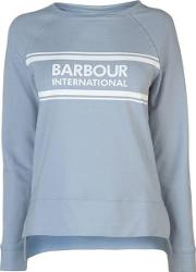 Barbour Pitch Logo Sweater Womens
