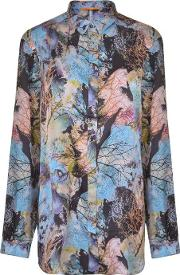 Eiman Forest Print Blouse