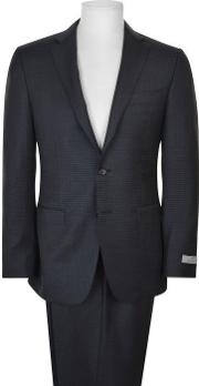 Milano Square Patterned Suit