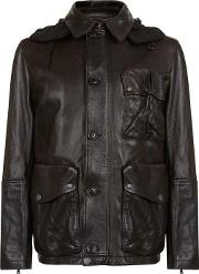 Goggles Leather Jacket