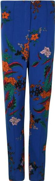 Floral Skinny Trousers
