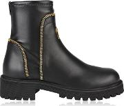 Zip Ankle Boot
