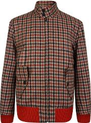 Checked Cropped Jacket