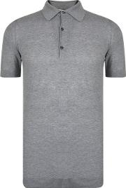 Roth Waffle Knitted Polo Shirt