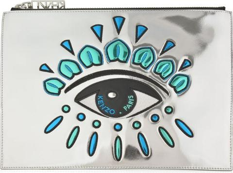 e1e08a365ae kenzo Eye Clutch Bag