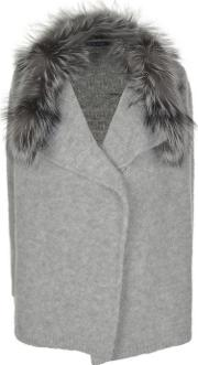 Fox Fur Cardigan