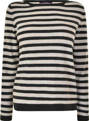 Stripe Metallic Jumper