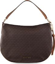 Brooke Patterned Leather Shoulder Bag