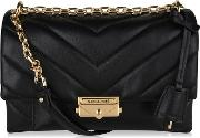 Cece Quilted Leather Cross Body Bag
