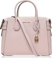 Mercer Grained Satchel Bag