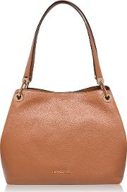 Raven Large Leather Tote Bag