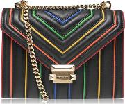 Whitney Rainbow Shoulder Bag