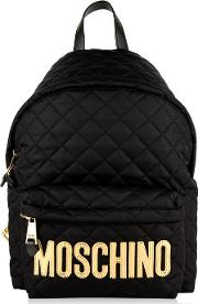 Quilted Large Backpack