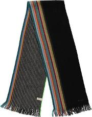 Paul Multi Coloured Fringed Scarf