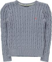 Cable Sweater Junior Girls