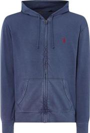 Polo Terry Hooded Sweatshirt