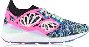 Pearl Cage Graphic Low Top Trainers