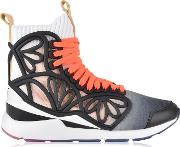 Cage Fade High Top Trainers