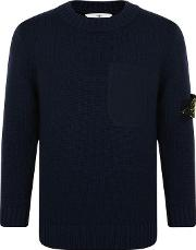 Children Boys Pocket Knitted Jumper