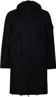Ghost Collection Hooded Parka Jacket
