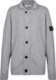 Junior Boys Button Cardigan