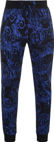 Logo Baroque Print Jogging Bottoms