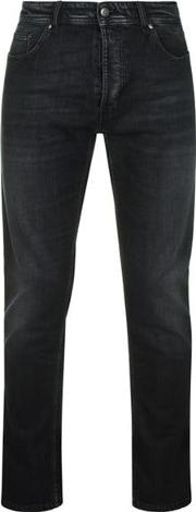 Versace Mens Slim Fit Grey Jeans