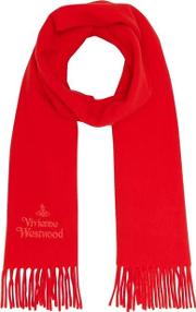 Embroidered Logo Scarf