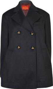 d9bfbd83cf6 reiss Bogart Double Breasted Peacoat