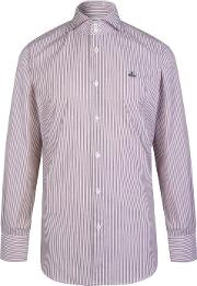 Striped Logo Shirt