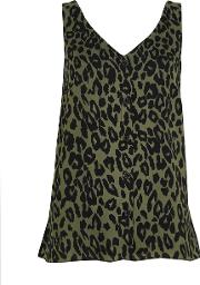 Animal Print Camisole Top