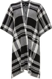 Black And White Checked Wrap