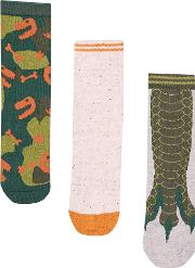 Boys Camouflage 3 Pack Socks 18 Months 6 Years