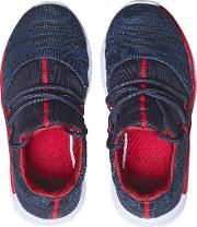 Boys Navy Mesh Sports Trainers 18 Months 6 Years