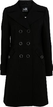 Double Button Military Coat