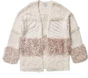 Girls Cream Fluffy Cardigan 5 12 Years