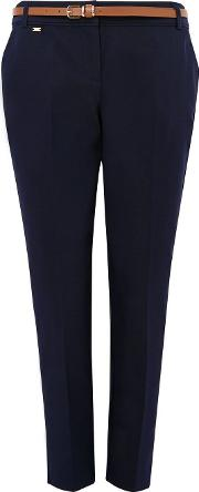 Petite Navy Tailored Trouser