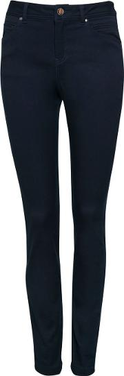 Tall Navy Blue Skinny Fit Jegging