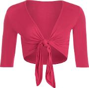 Cissy Tie Up Shrug Top