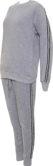 Contrast Striped Lounge Tracksuit