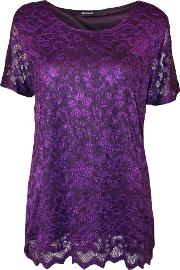 Haleigh Lined Lace Top